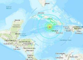 Terremoto ai Caraibi