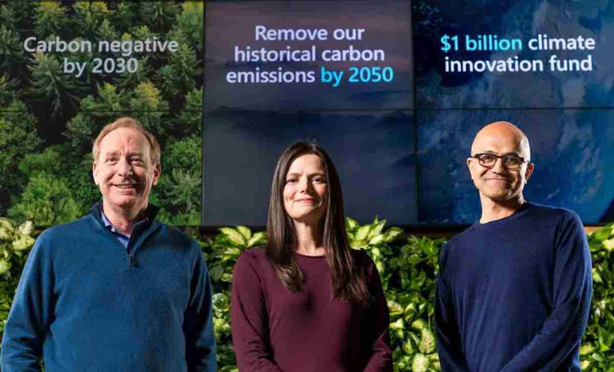La sfida ecologica di Microsoft: riuscirà ad eliminare entro
