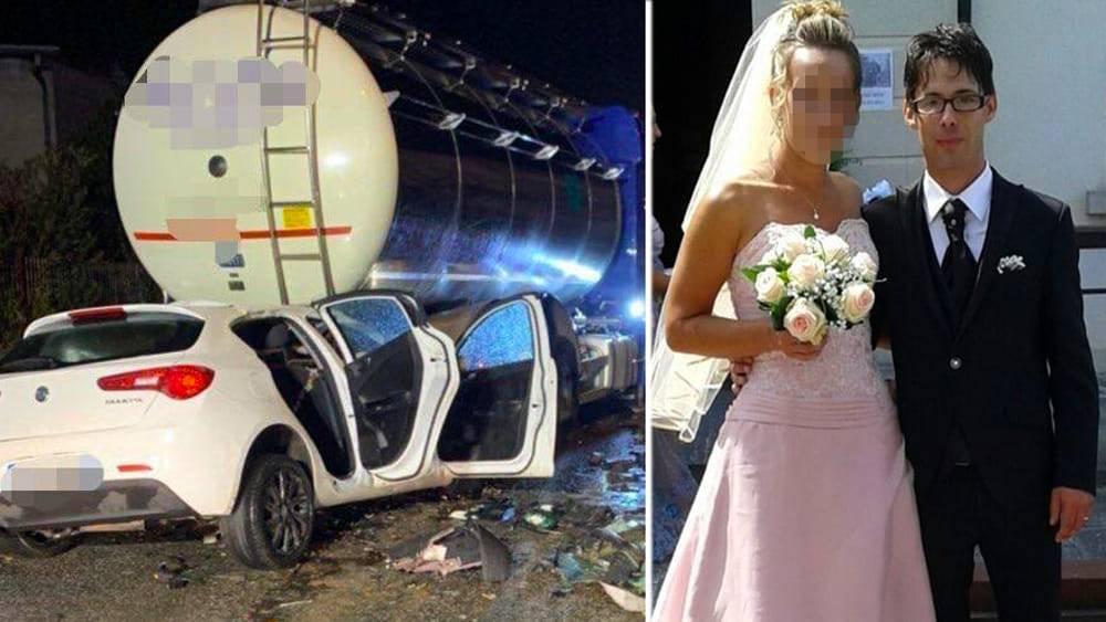 Vettura si schianta contro un'autobotte, morto un uomo di 38