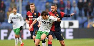 Il Genoa ospita il Sassuolo a Marassi.