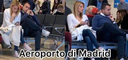 Luigi Di Maio aeroporto