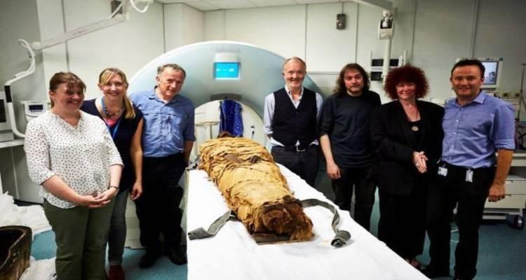 mummia voce riprodotta