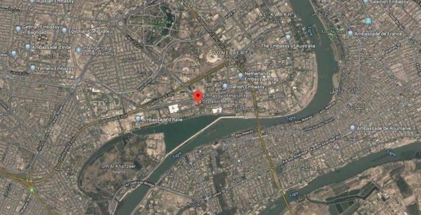 missili lanciati vicino all'ambasciata usa a baghdad