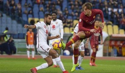 La Roma riceve il Torino allo Stadio Olimpico.