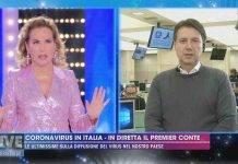 Coronavirus, Giuseppe Conte a Live-Non è la d'Urso