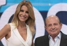 Giancarlo Magalli e Adriana Volpe