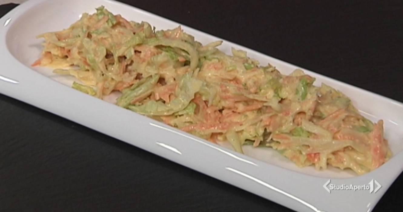 Cotto e Mangiato, ricetta 25 Febbraio: insalata con maionese vegana