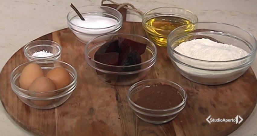 torta barbabietola e cacao