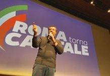 Matteo Salvini all'Eur