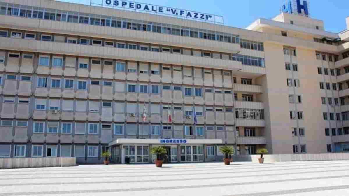 Sospetto coronavirus al Vito Fazzi di Lecce  Militare proveniente da treviso posto in