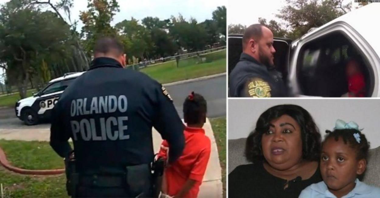 Arresta una bambina di soli 6 anni. L'agente di polizia vien
