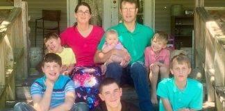 una famiglia distrutta in un grave incendio