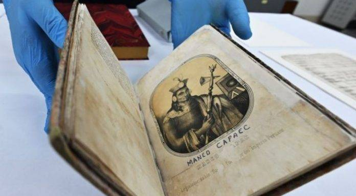 ritrovato manoscritto contenente segreti della civilta inca