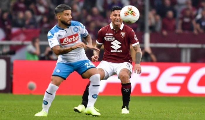 Napoli Torino, dove vedere la partita in diretta TV e in str