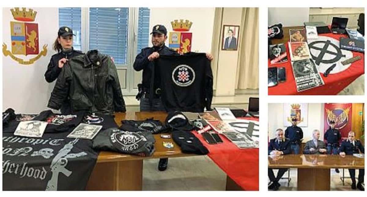 Neonazista arrestato a Bergamo dopo due giorni in cella ritr