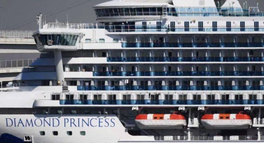 diamond princess ferma in porto