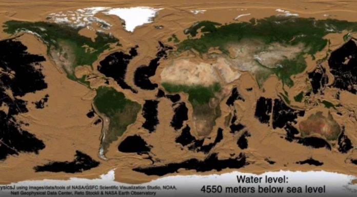nasa video terre oceani