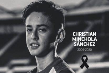 Morto giovane promessa dell'Atletico Madrid