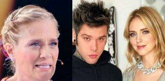 Heather Parisi, Chiara Ferragni e Fedez