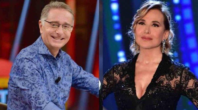 Paolo Bonolis e Barbara d'Urso