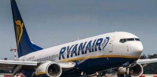 Ryanair, sospesi voli per l'Italia