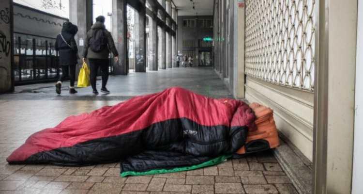 coronavirus senzatetto italia