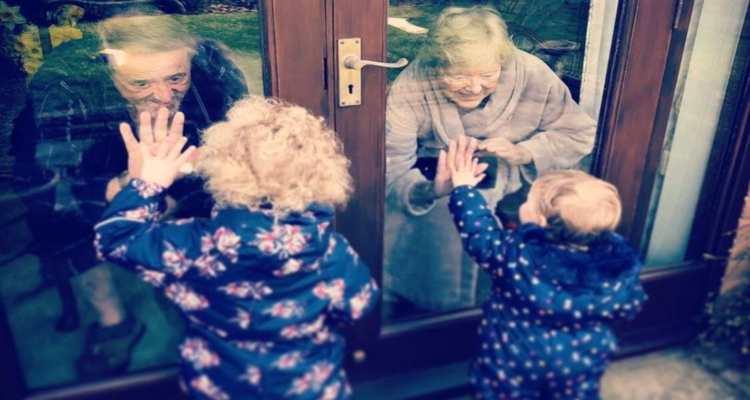 nipoti nonni coronavirus
