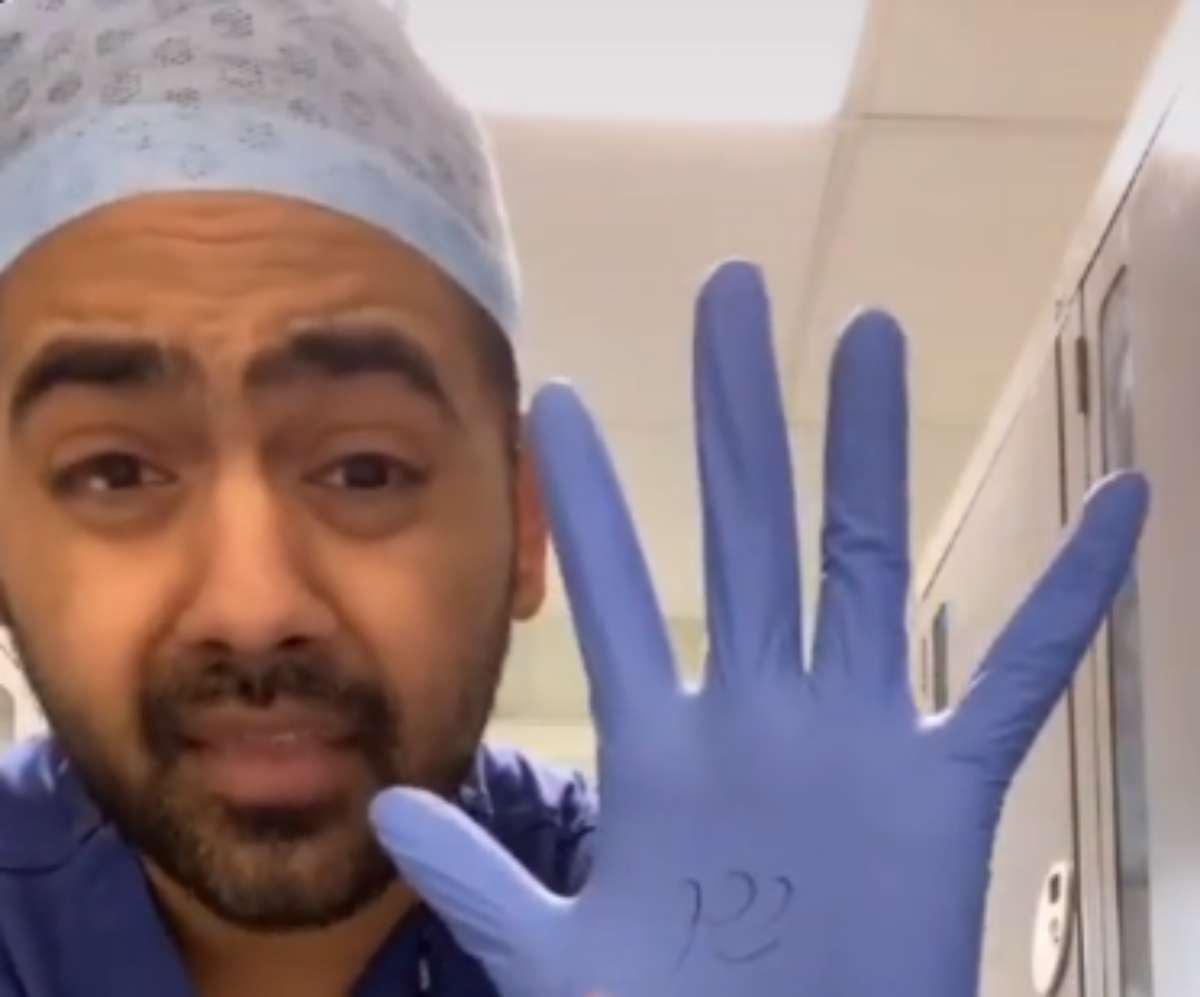 Coronavirus, medico spiega perché non bisogna indossare i gu