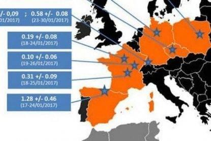 Nube radioattiva arriva sull'Europa