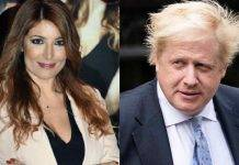 Selvaggia Lucarelli e Boris Johnson