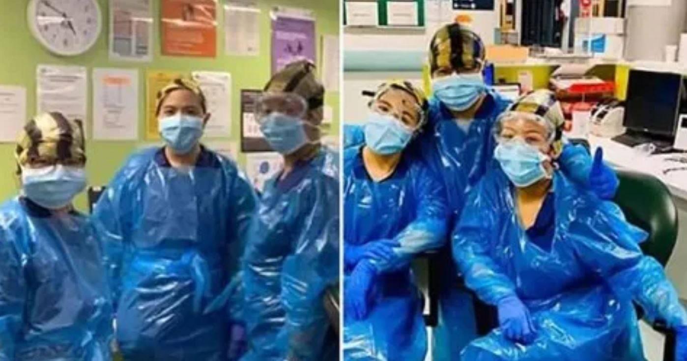 Camici protettivi non disponibili: infermiere usano i sacchi