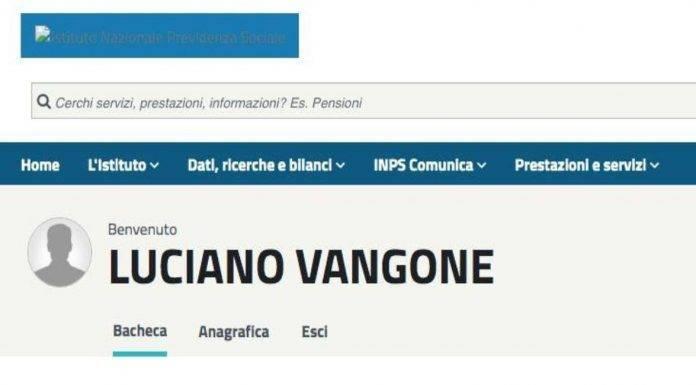 luciano vangone sito inps bonus 600 euro