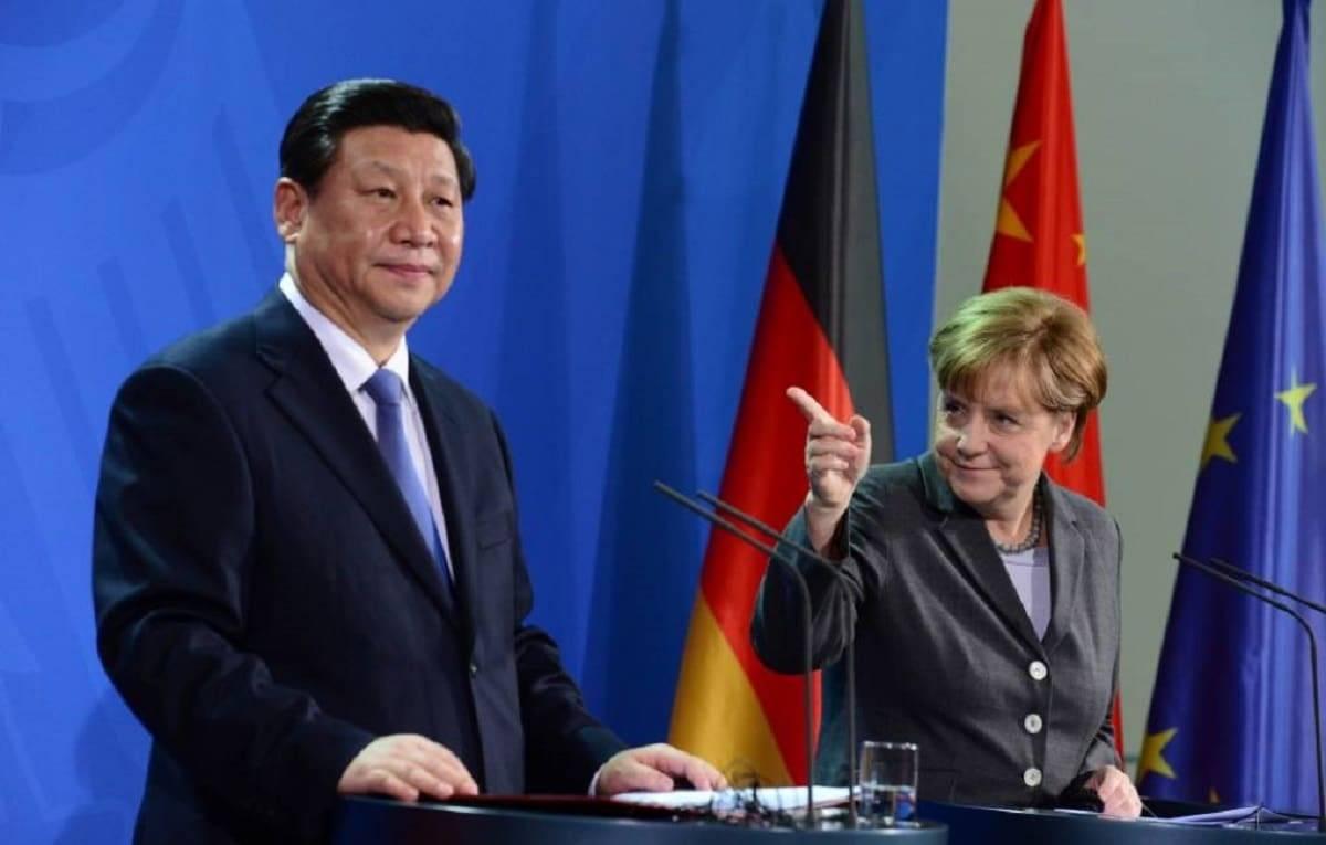 Angela Merkel coronavirus Cina sia trasparente