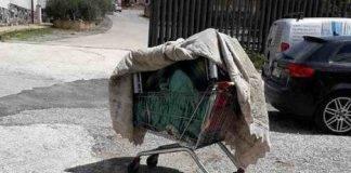 Ceccano, cadavere di un uomo in un carrello
