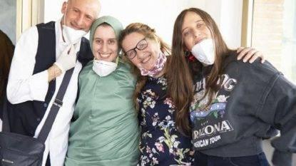 Silvia Romano convertita all'Islam (foto Ansa)