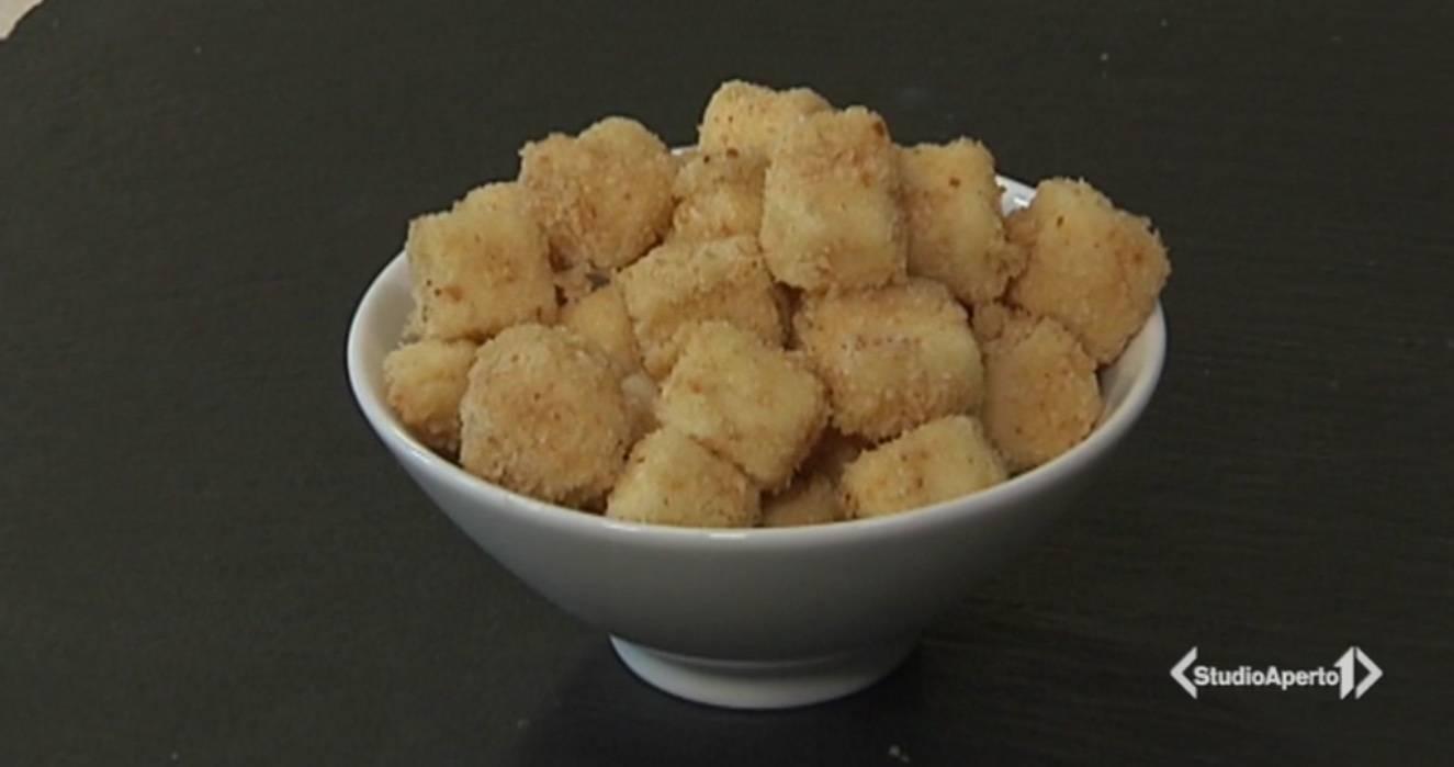 Cotto e Mangiato, ricetta 25 Maggio: bocconcini di latte fri
