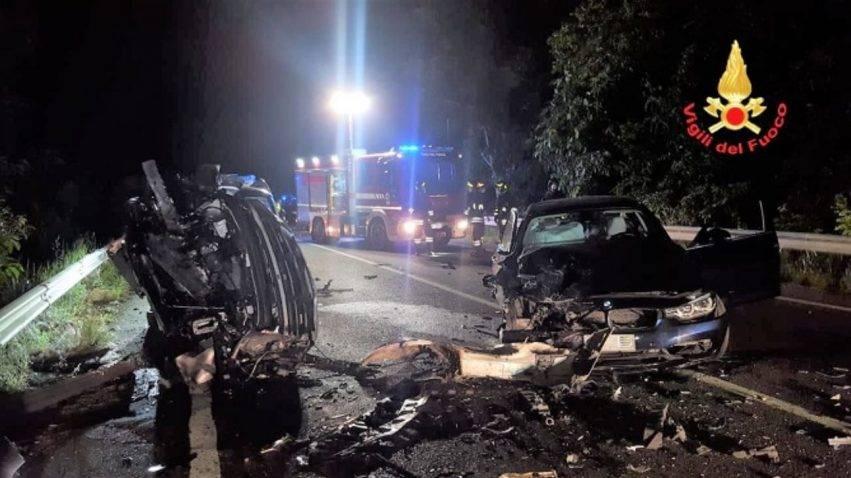 grave incidente stradale