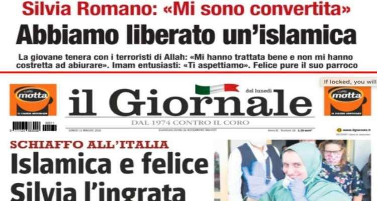 libero il giornale silvia romano