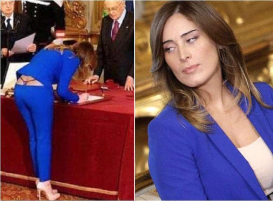 """La Boschi torna sulla foto fake in perizoma: """"Mi ha fatto ma"""