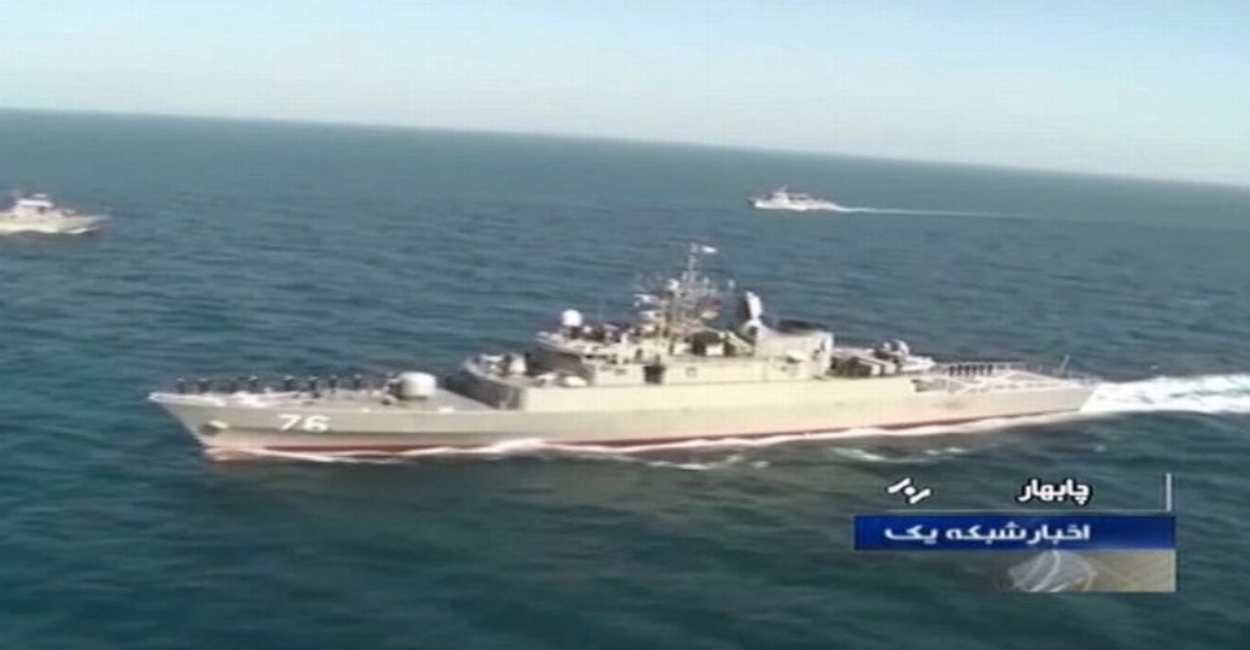 missile iran nave