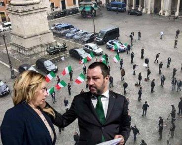 Lite Salvini - Meloni