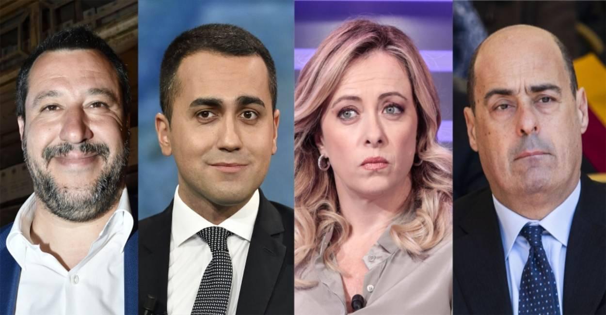 """Sondaggi politici, tracollo Lega e M5S. PD stabile, """"boom"""" d"""