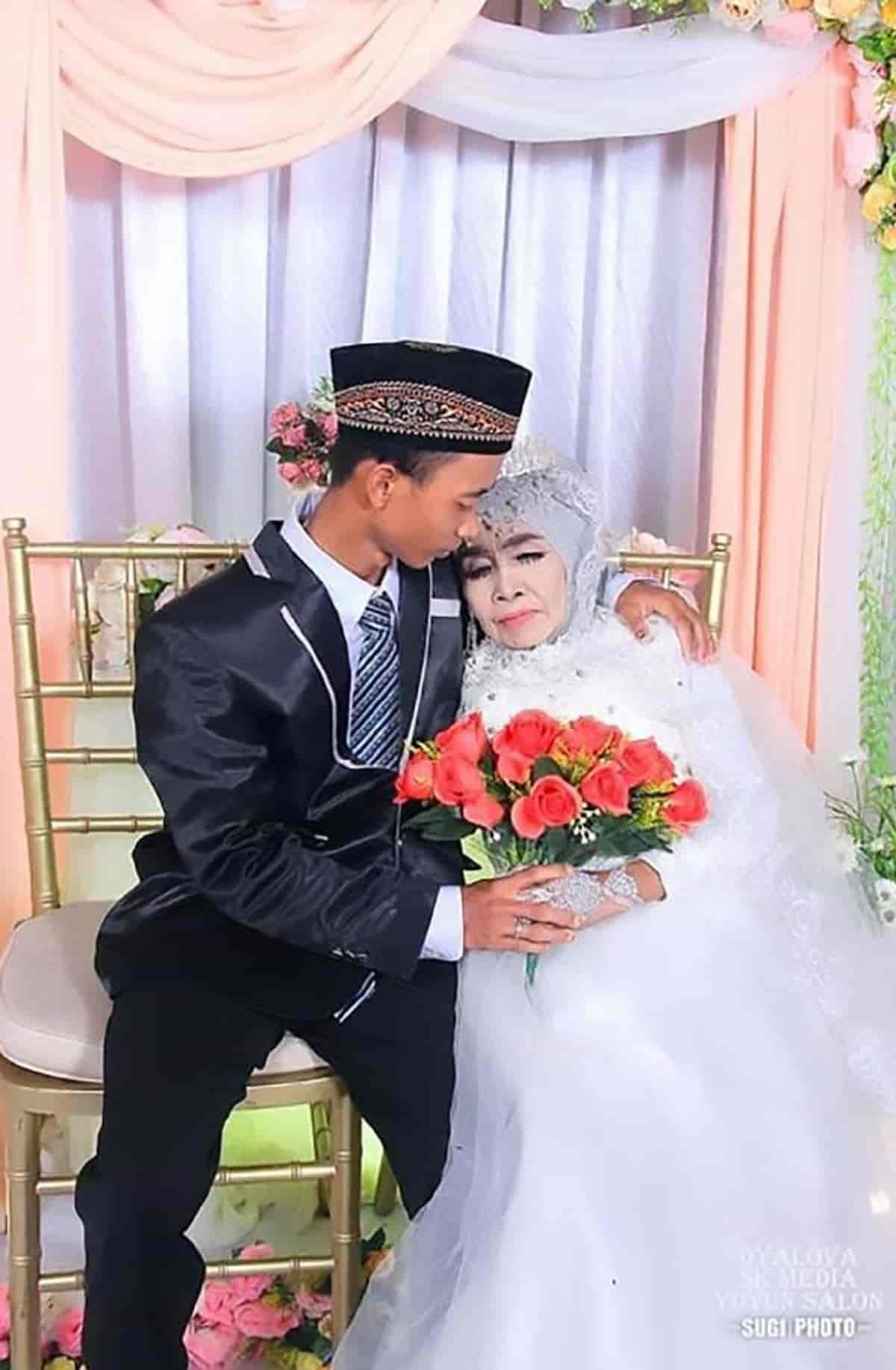 Anziana sposa il figlio adottivo