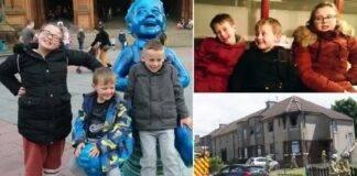 Tre bambini morti nell'incendio in Scozia