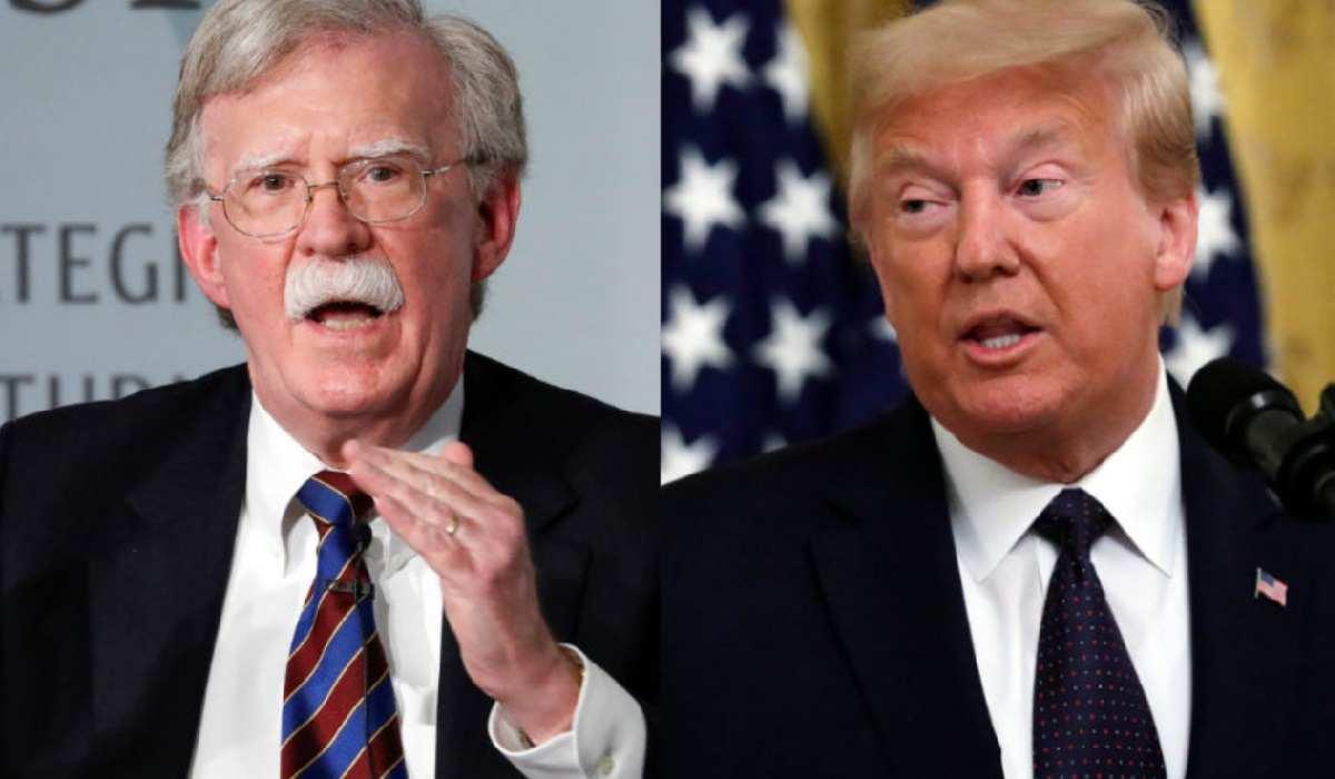 Bolton accusa Trump nel suo libro