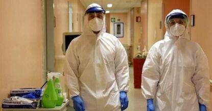 Coronavirus, infermieri in azione