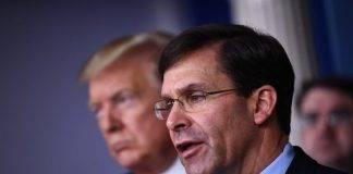 Pentagono non sostiene l'ipotesi di Trump