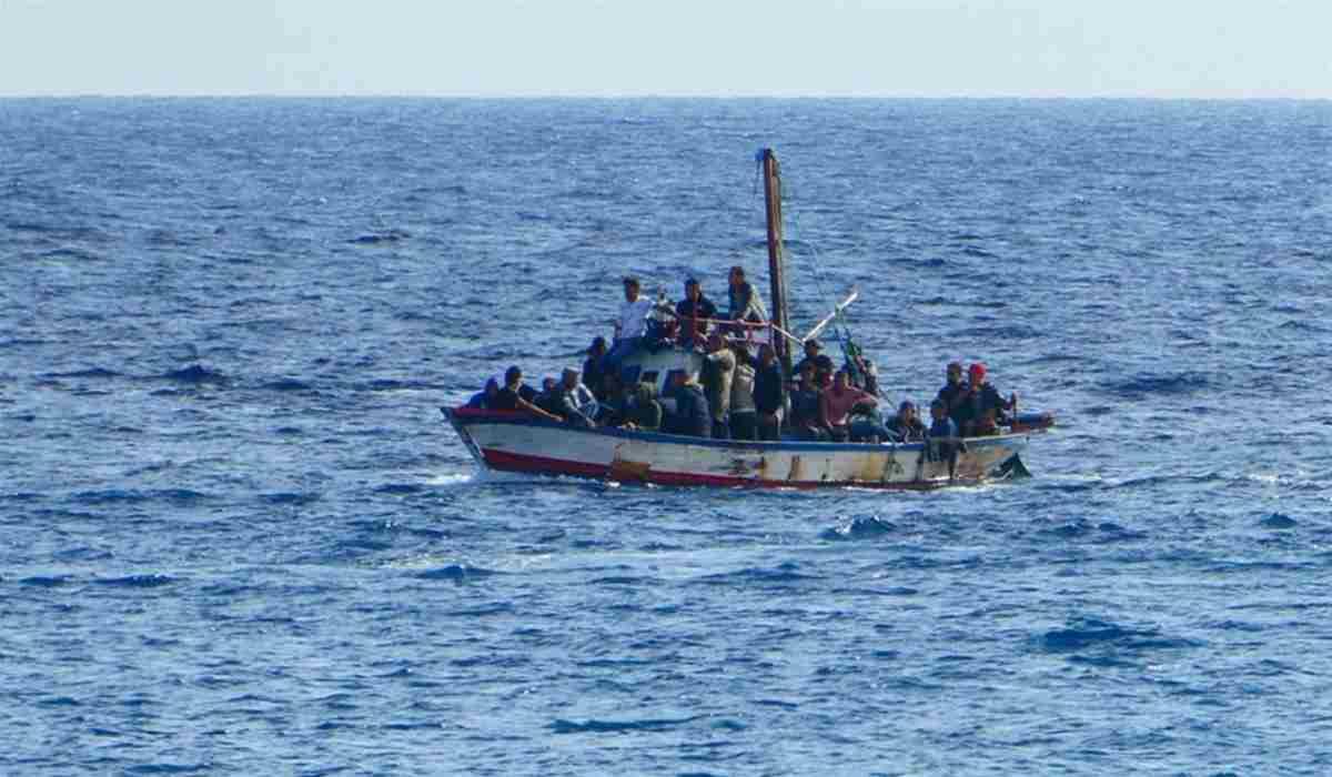 Tunisia, barcone naufragato