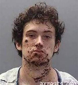 Vittima del suo stesso ordigno, arrestato