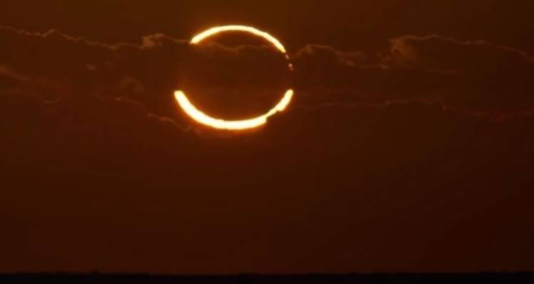 eclissi anulare fine del mondo